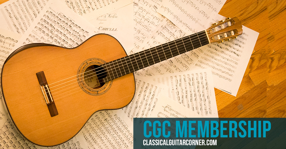 Memorizing music on the classical guitar