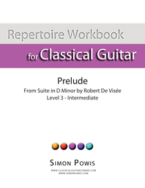 Robert De Visee Prelude in D minor