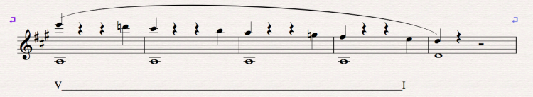 Fig.2 Understand the basic musical elements in the passage